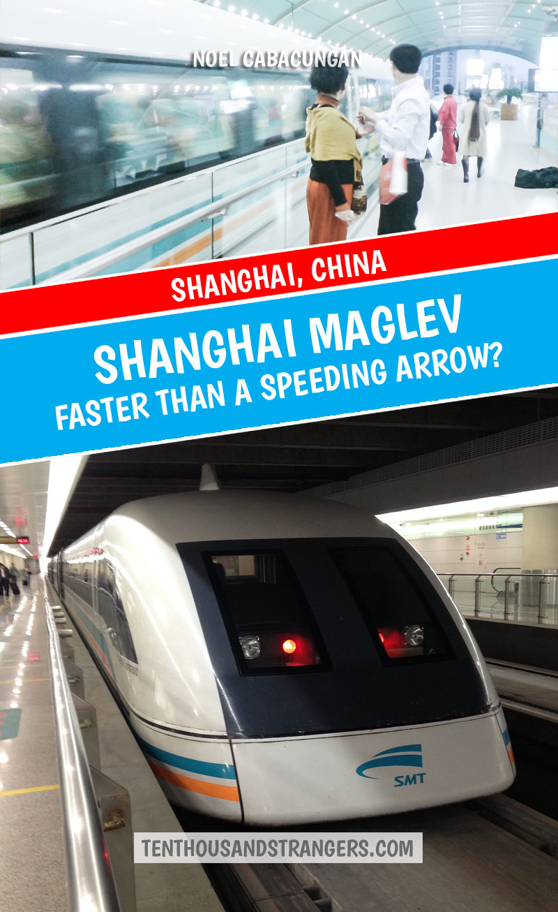 Shanghai MagLev Speed
