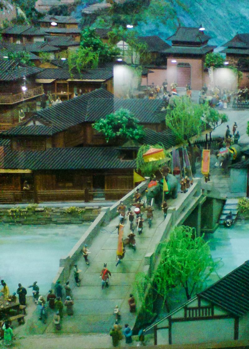 Song Dynasty Diorama, Hangzhou West Lake