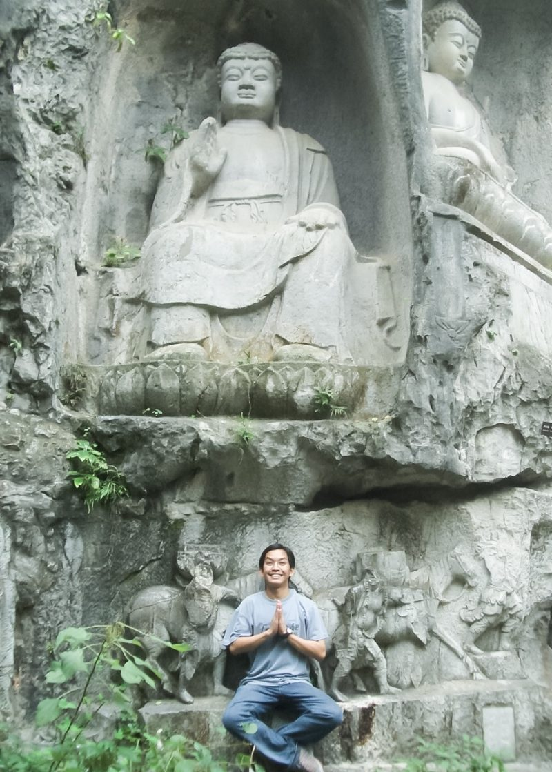 Buddha at Fei Lai Feng, Hangzhou West Lake