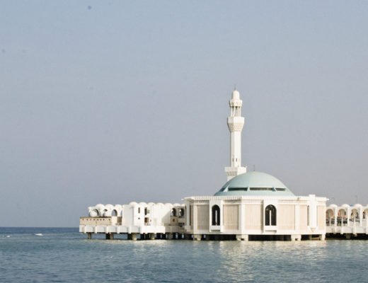 Jeddah Floating Mosque by Noel Cabacungan