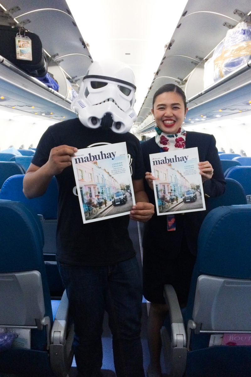 Mabuhay, Philippine Airlines' in-flight magazine
