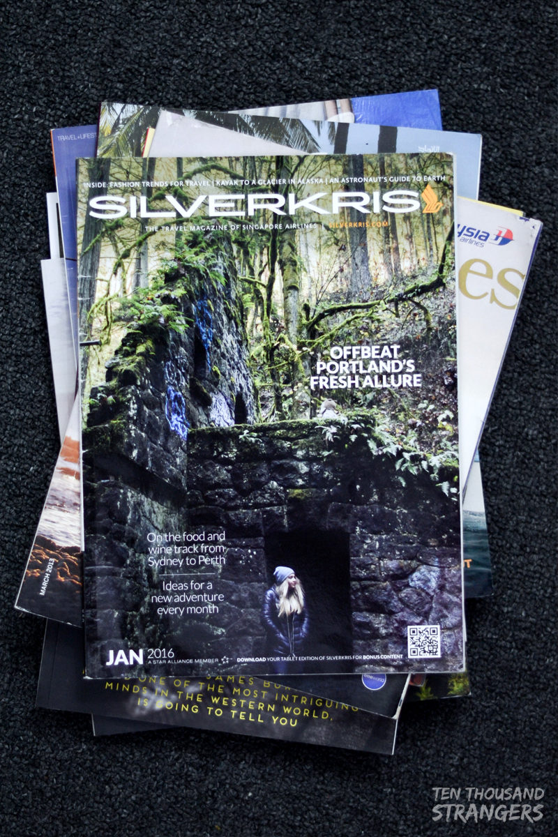 Silverkris, Singapore Airlines' Inflight Magazine