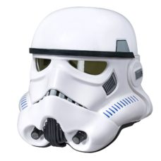Stormtrooper Helmet with Voice Changer (Black Series, Hasbro)