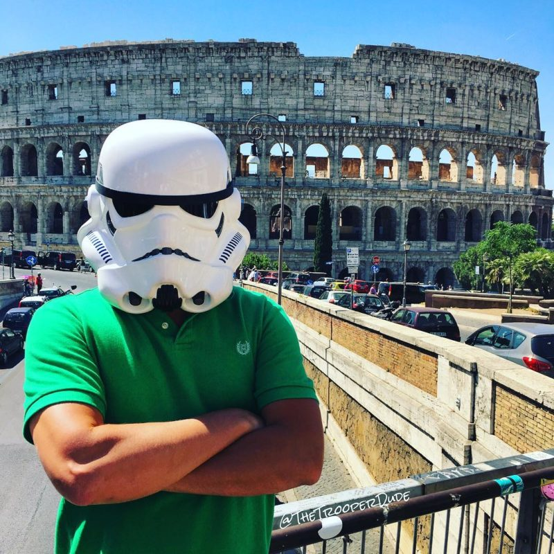 Thetrooperdude at the Coliseum, Rome