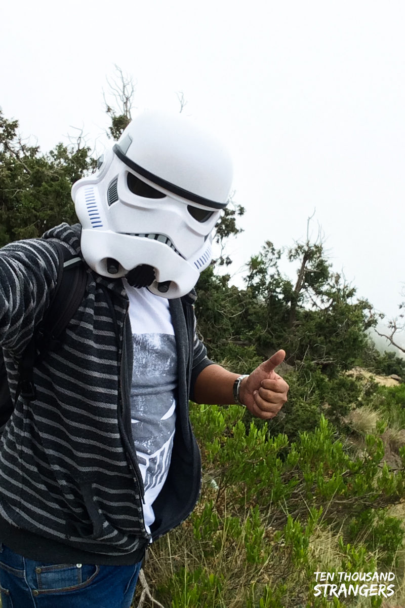 Stormtrooper Into the Woods, Jabal Sawda, Abha, Saudi Arabia