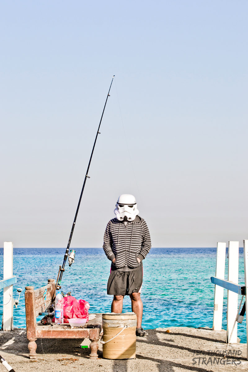 Stormtrooper Fishing at Al Sahel Resort, Jeddah KSA