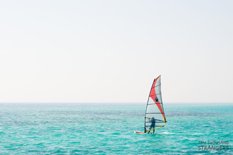 Windsurfing in Jedddah Resort
