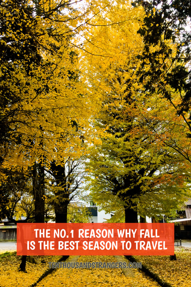 The Top Reason Why Fall is the Best Time to Travel
