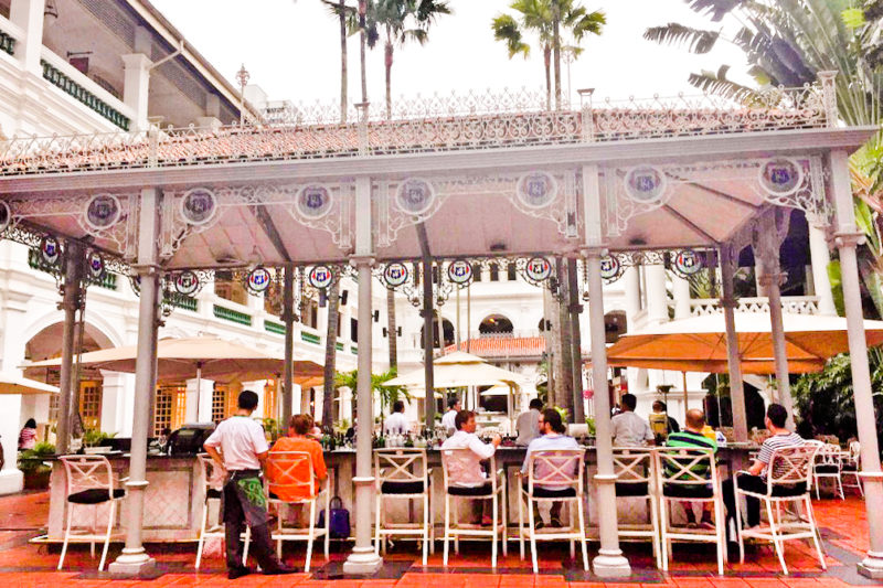 Raffles Hotel, Singapore Raffles Hotel, Singapore Layover Guide