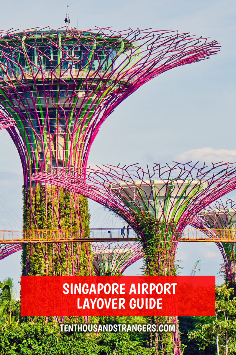 Singapore Airport Layover Guide
