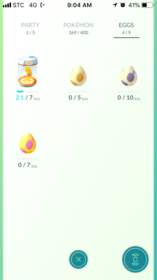 Pokemon Go 50km Adventure Sync Rewards: 10km and 5km eggs