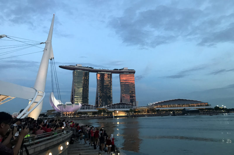 Marina Bay Sands - Free Singapore Attractions