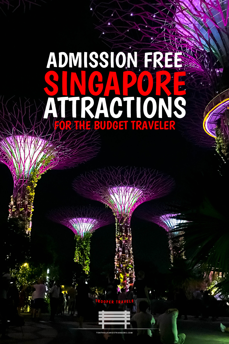 Admission Free Singapore Attractions