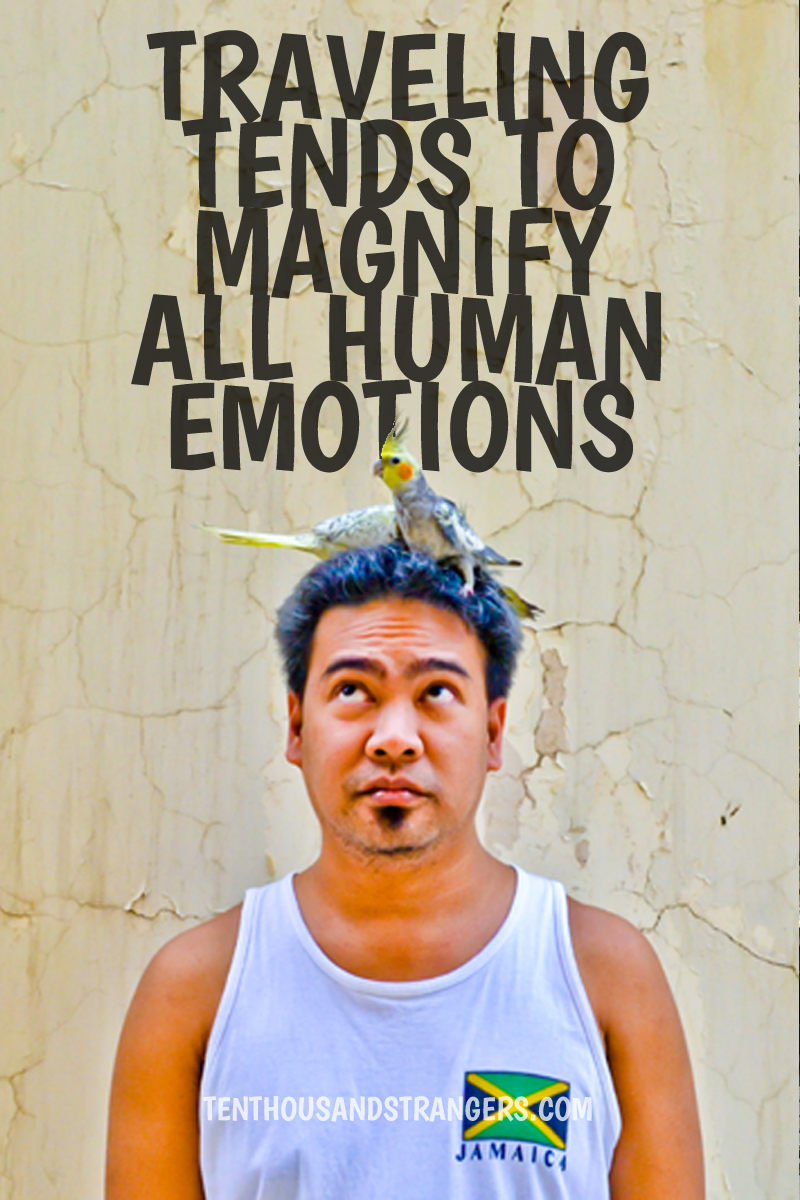 Travel Quotes -- Traveling tends to magnify all human emotions. ~ Peter Hoeg